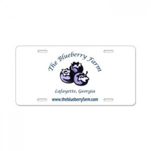 the_blueberry_farm_aluminum_license_plate